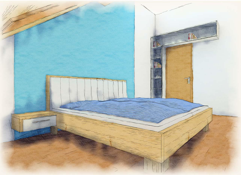 Schlafzimmer Planung Tischlerei Kamhuber